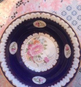 Ваза-тарелка
