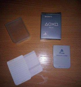 Оригинальные карты памяти PlaystationOne