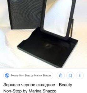 Зеркало на подставке+косметичка