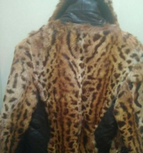 Куртка коженная с мехом
