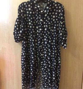 Рубашка-платье  42 р