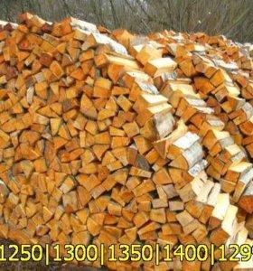 Ольховые и березовые дрова с доставкой по Санкт-Пе
