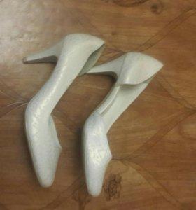 туфли свадебные новые