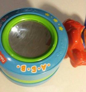 """Музыкальная игрушка """"колесо"""""""