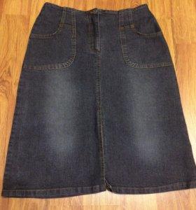 Юбка джинсовая 44 рамер