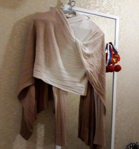 Кофта шарф