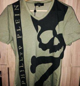 Брендовая Мужская футболка Philipp Plein