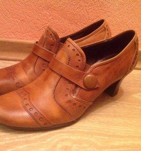 Туфли кожаные Jana