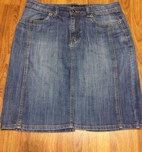 Юбка джинсовая, 46 размер