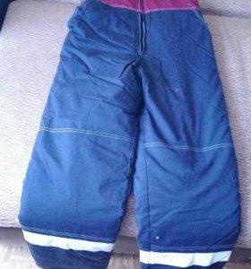 """Ватные штаны , """"Техноавиа""""с отрожающими полосками"""