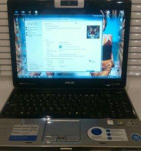 Ноутбук Asus + охлаждение