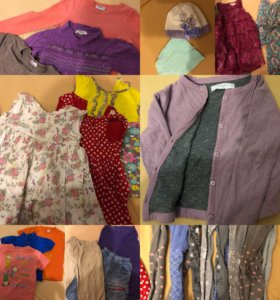 Вещи на девочку 86-110 пакетом