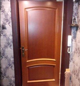 Дверь межкомнатная 900*2000 с замком без коробки