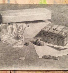 Картина «сундуки»