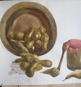 Картина «груши»