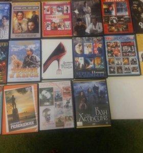 Диски DVD (16шт в ассортименте)