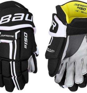 Перчатки хоккейные BAUER Supreme S150 SR