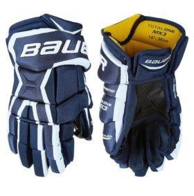Перчатки хоккейные BAUER Supreme Total One MX3 SR