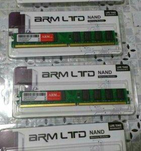 Оперативная память DDR2 2 ГБ 667 мГц 800 мГц