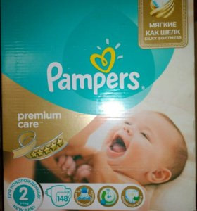 Pampers 2 3-6 кг