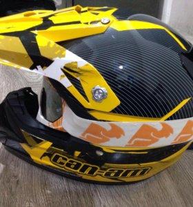 Мото шлем с визиром