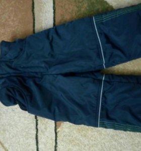 Зимний детский комбинезон+пижама