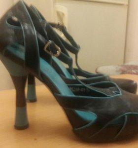 туфли женские кожа Италия