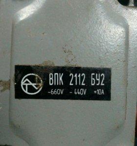 Выключатель концевой ВПК 2112 БУ2