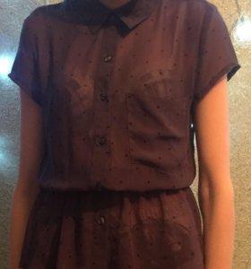 рубашка женская прозрачная