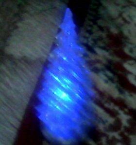 Светящиеся ёлка