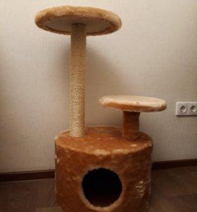 Домик для кота, когтеточка