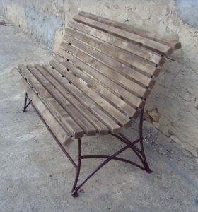 скамейка уличная