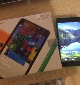 Телефон Microsoft Lumia 535 Green