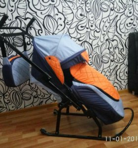 Санки-коляска