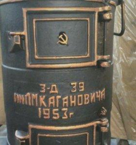 Печка чугунная завод Когановича