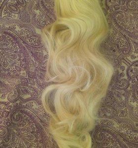 Краб с волосом (заколка)