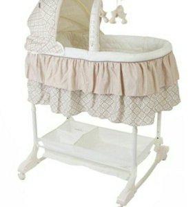 Кроватка-Люлька детская Jetem + комбез в подарок
