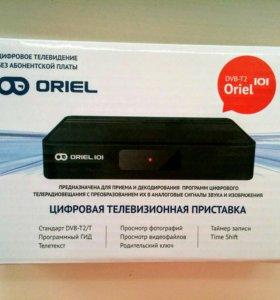 Цифровая телевизионная приставка Oriel DVB-T2