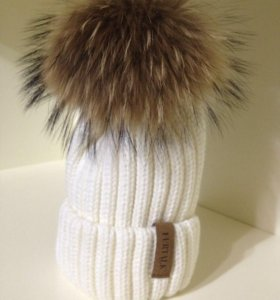 детский комплект: шапка+шарф