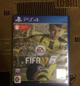 Игра ФИФА 17 на PS4