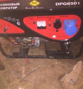генератор 6500 ватт DDE DPG6501 бензиновый