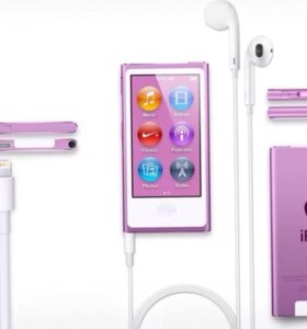 плеер ipod nano 7gen 16gb pearl white (новый)