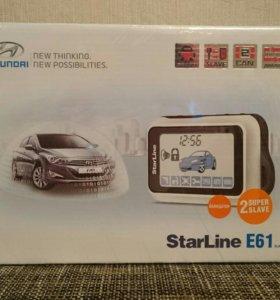 Сигнализация starline E61 новая