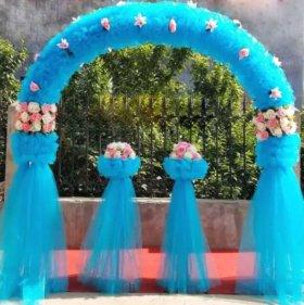Продажа декоративного оформления (арки, вазоны)