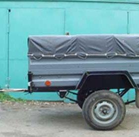 Автоприцеп КМЗ-8136