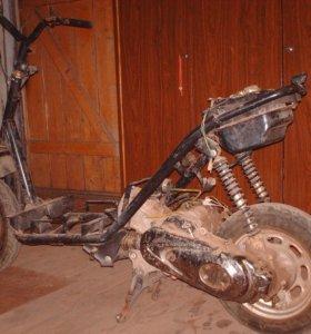двигатель от скутера