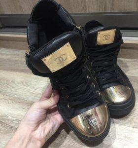 Кеды/ботинки chanel