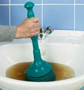Засор канализации сантехник