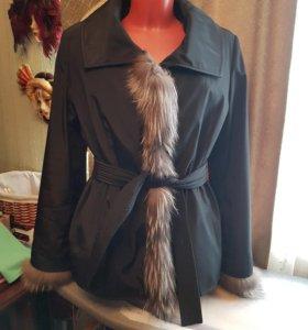 Куртка на натуральной подстежке
