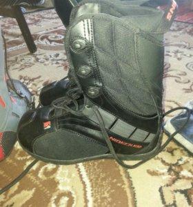 Новые ботинки для сноуборда 41 размер